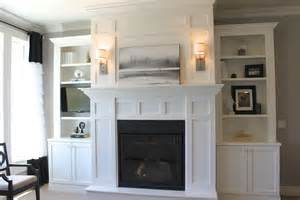 white built ins around fireplace home design ideas