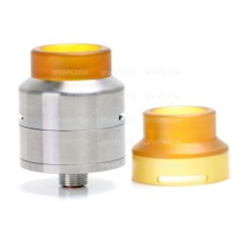 Goon Lp 24 Authentic Goon Style Rda 24mm Silver Rebuildable Atomizer W 510