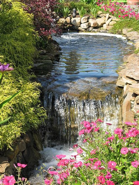 backyard fountains and waterfalls 75 relaxing garden and backyard waterfalls digsdigs