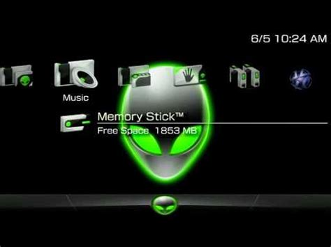 psp themes not working psp theme alienware theme lime green edition psp themes