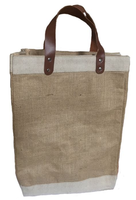 H Tote Bag jute tote bags burlapfabric burlap for wedding and