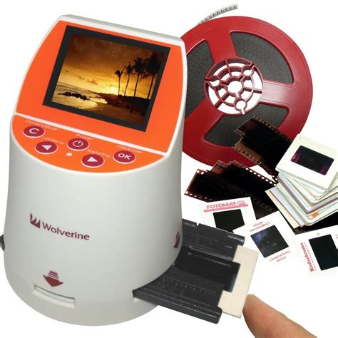 Slide And Negative To Digital Picture Converter by Wolverine F2d Mighty Convert Analog To Digital