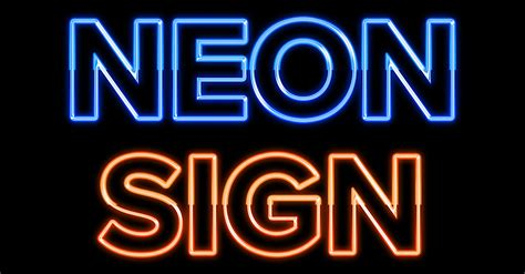 can you join neon rope youtube how to create a glowing neon sign in photoshop