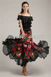 Dress 2013 new modern dance costume flamenco performance dress