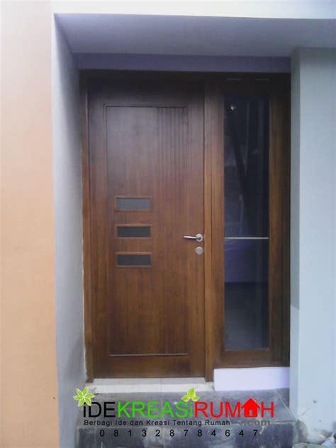 model pintu  rumah modern minimalis ide kreasi rumah