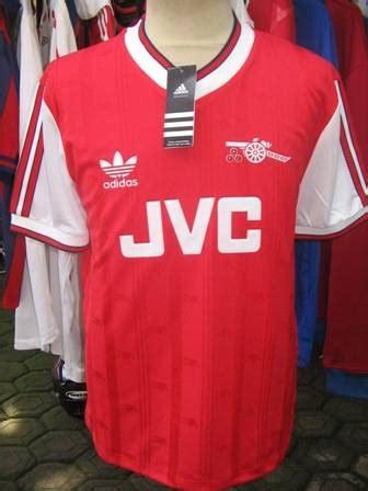 Jersey Retro Grade Aaa Thailand Arsenal Home 2007 Testimonial Bergk dinomarket pasardino ready stock jersey retro arsenal home season 1986 1988