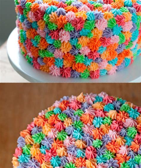 50 amazing and easy kids cakes rosette cake