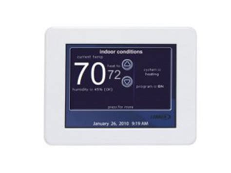 Lennox I Comfort by Thermostats Icomfort Non Wifi Laval Shore Bs