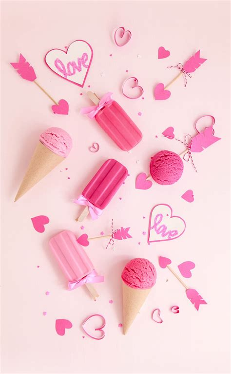 wallpaper girly things ice cream and popsicles download more cute pink iphone
