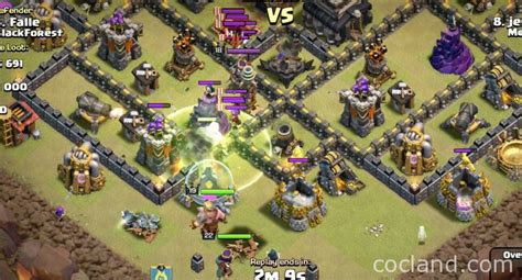 golaloon attack strategy clash of clans land golaloon attack strategy clash of clans land