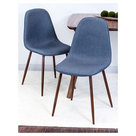 dining chairs modern porter mid century modern dining chairs set of 2 target