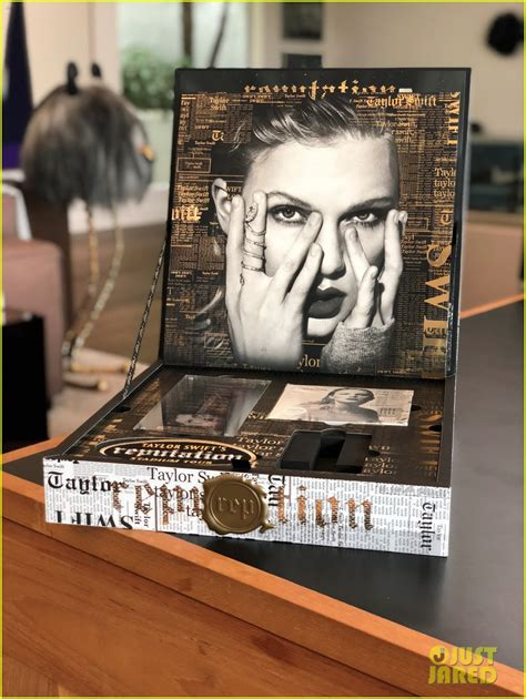 taylor swift reputation vip book full sized photo of taylor swifts vip boxes for reputation