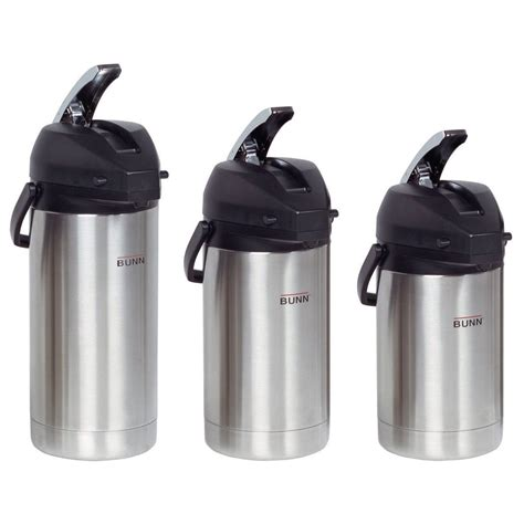 Coffe Pot Stainless 2 Liter bunn airpot stainless steel liner 2 5l 3 0l or 3 8l