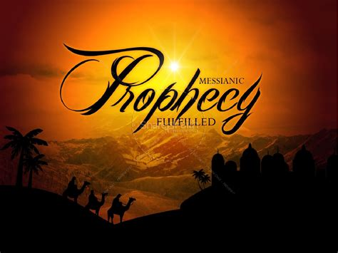 messianic prophecy fulfilled christmas powerpoints