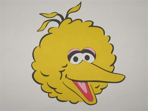 big bird template best photos of big bird template sesame big