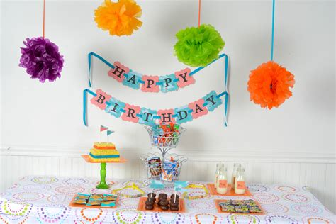 birthday decor at home simple birthday decorations ideas nice decoration