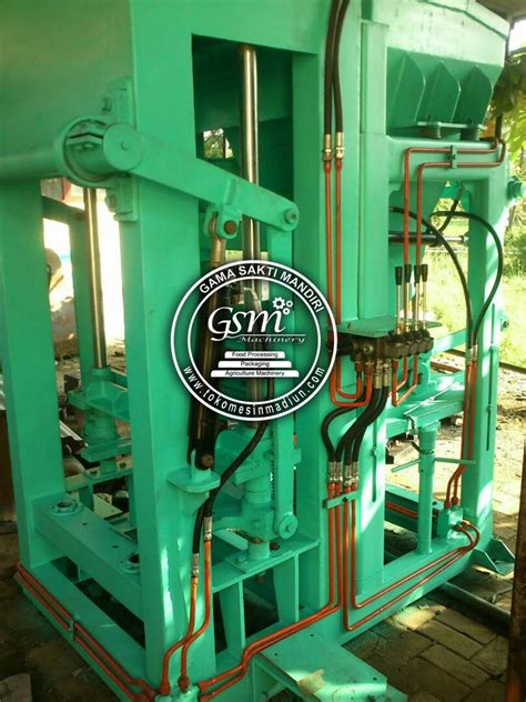 Harga Cetakan Batako Terbaru mesin cetak batako paving semi otomatis toko mesin gama