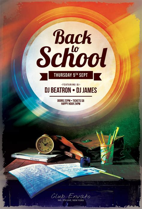 back to school flyer template back to school flyer by stylewish on deviantart