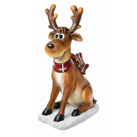 reindeer statue reindeer sitting statue reindeer statue