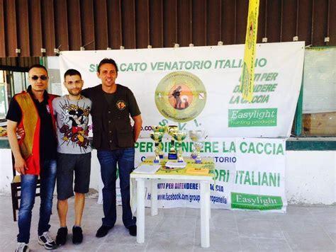 ufficio caccia e pesca salerno soldariet 224 il sindacato venatorio italiano dona il