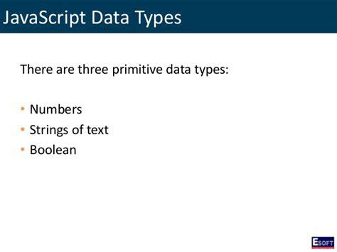 primitive data types numbers strings ordinal types diwe programming with javascript
