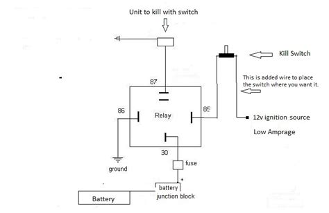 12 volt wiring diagram kill switches wiring diagram with
