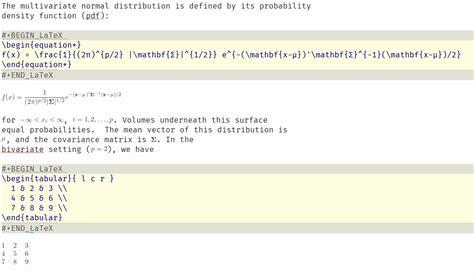 latex syntax tutorial rendering latex code inside begin latex end latex