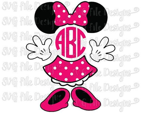 Disney Minnie Mouse Skirt Pink minnie mouse ears bow skirt shoes circle monogram