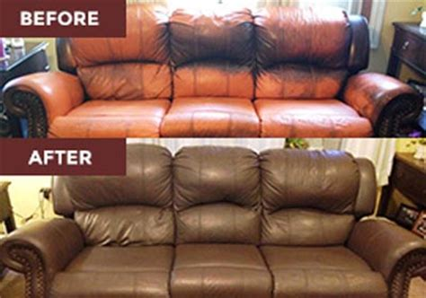 can you dye a leather sofa leather restoration vinyl and leather dye furniture