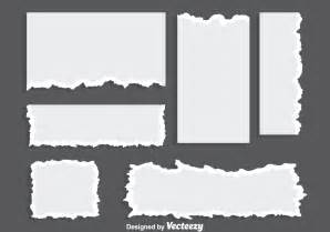 Blank ripped paper vectors download free vector art stock graphics