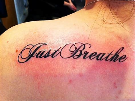 tattoo lettering shoulder grandad lettering and witch tattoo on right back shoulder