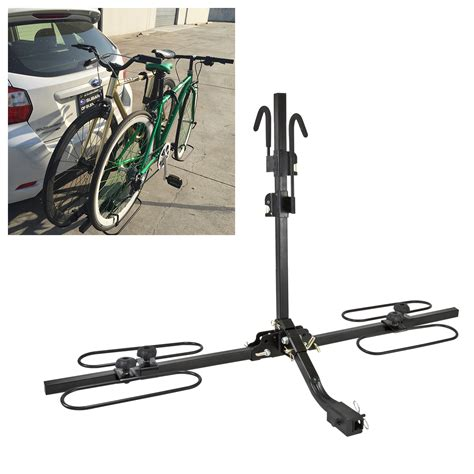Bike Rack For Car Without Hitch by 2 Quot Hitch Mount Carrier Platform Rack Heavy Duty 2 Bike