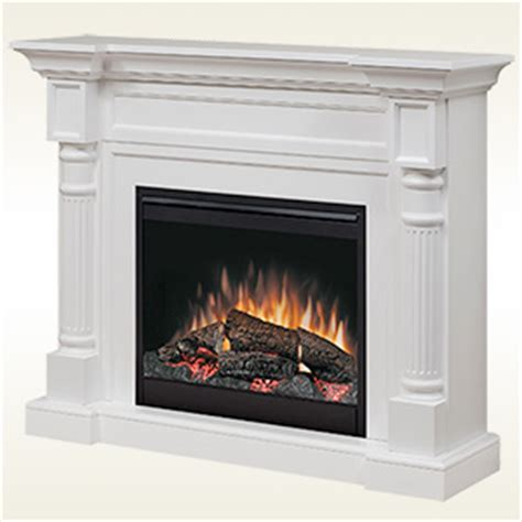 Free Standing Gas Fireplace Lowes by Dimplex Winston Electric Fireplace Mantel Package In White