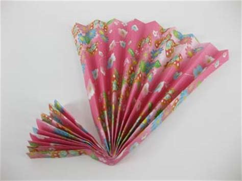 How To Make A Paper Folding Fan - origami fan picture image by tag