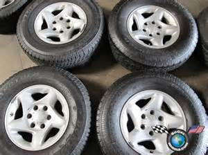 16 Inch Toyota Truck Wheels Toyota Tacoma Tires And Rims Take Offs Autos Weblog