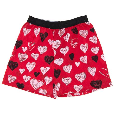 valentines mens boxers boxers sketchy hearts s day boxer shorts for