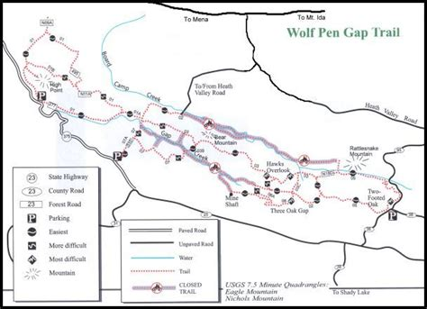 missouri cing map wolf pen gap trail mena 28 images hawks overlook