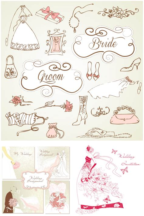Wedding Free Vector by Wedding Vector Graphics Page 4