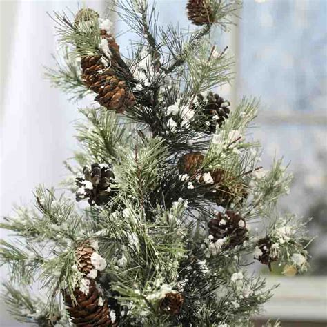 snowiest fake tree snow small artificial pine tree trees and toppers and winter