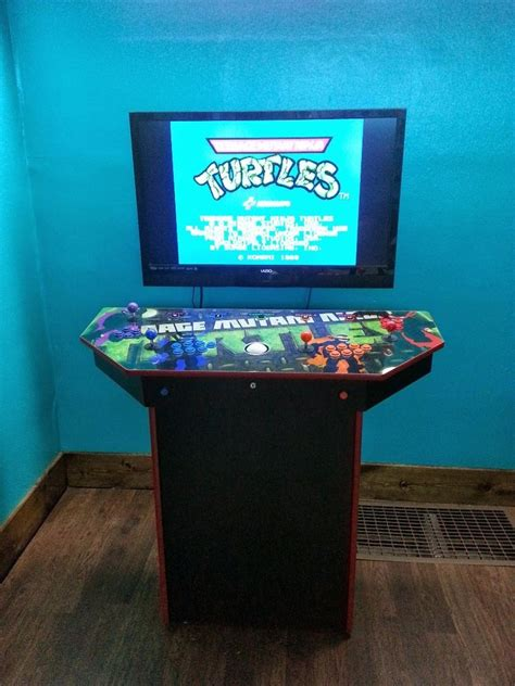 mame arcade console 4 player pedestal arcade cabinet for mame arcade
