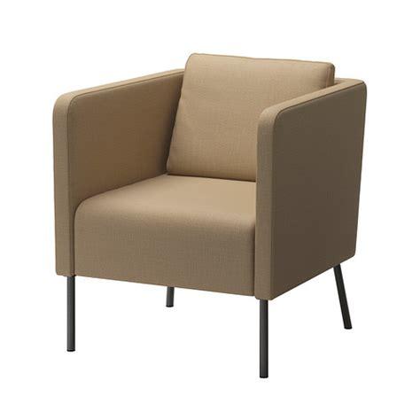 beige armchair eker 214 armchair skiftebo beige ikea