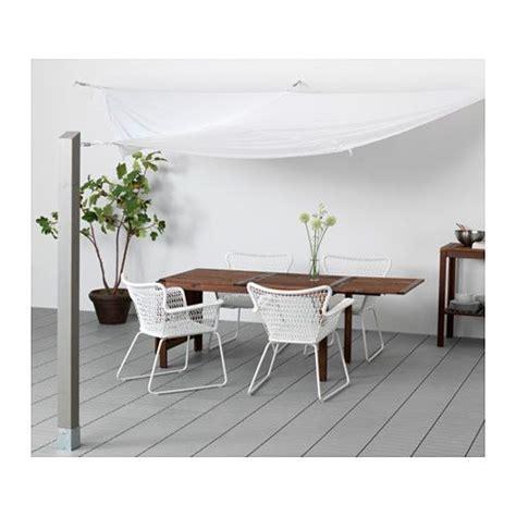 Sonnensegel Balkon Ikea by Dyning Sonnensegel Dreieckig Wei 223 Gartentisch Und Balkon