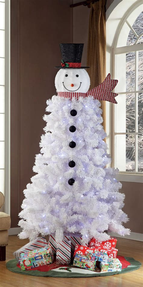 Snowman Decoration White best 28 snowman tree decorations diy