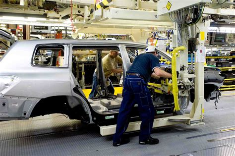 Car Manufacturing Process Toyota