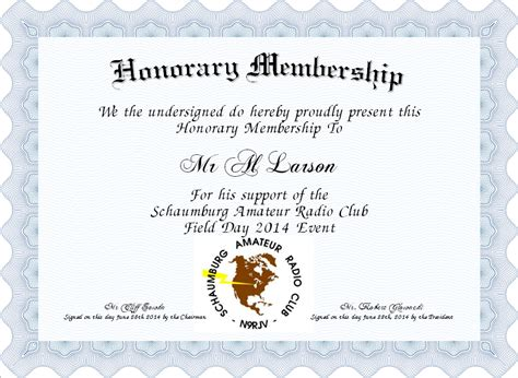 honorary member certificate template honorary membership certificate created with
