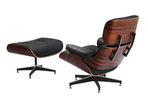 modern leather recliner chairs eames lounge chair good design