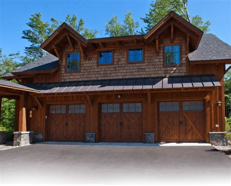 rustic timber frame house plans log house plans timber frame house plans three car