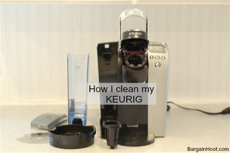 How to clean and (De scale) a Keurig one cup coffee maker