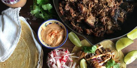 how to make sriracha mayo best slow cooker carnitas tacos with sriracha mayo recipe