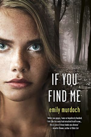 in this book you will find books if you find me by emily murdoch reviews discussion